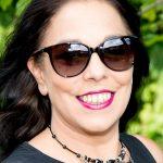 Schauspielerin Sissi Gotsbachner hat den Durchblick mit einer INVU- Sonnenbrille