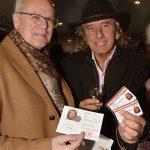 The Sirs stellten die neue CD Wiener Weihnacht vor.