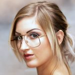 Laura Chiara Testimonial für die Brillenmarke Sanford